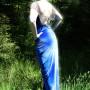 Blue velvet SMALL